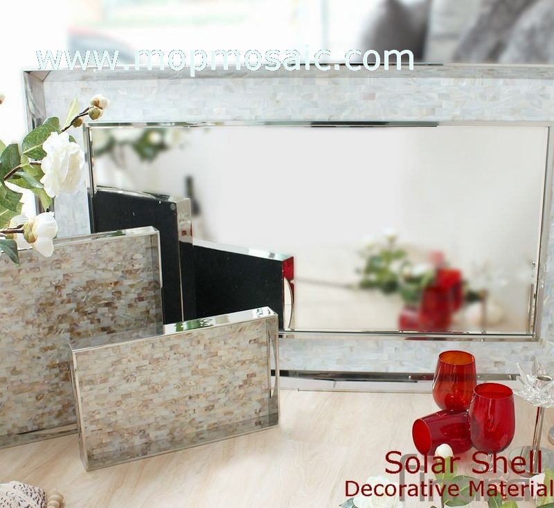 Common dapple color shell mosaic(15*25mm)