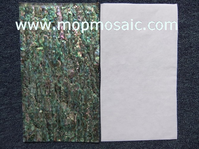 Flexible Abalone shell paper,Flexible paua shell veneer