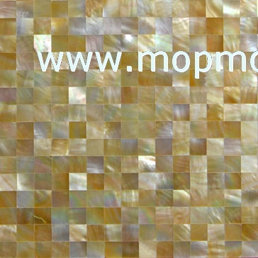 Block yellowlip mother of pearl panel,seamless shell Tiles