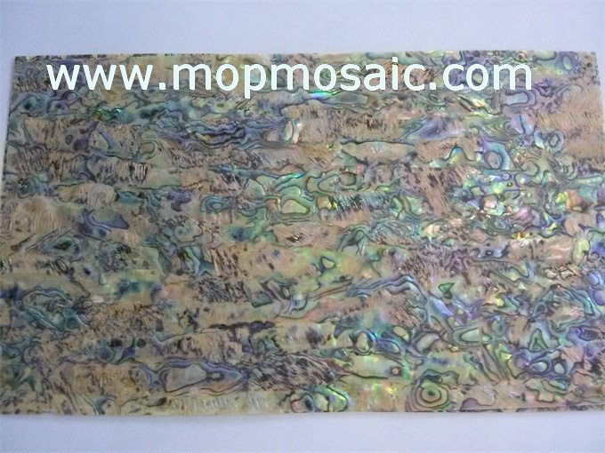 New zealand abalone shell laminate for guitar inlay