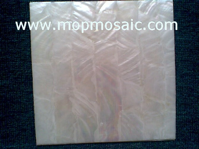 200x200mm white freshwater shell paper