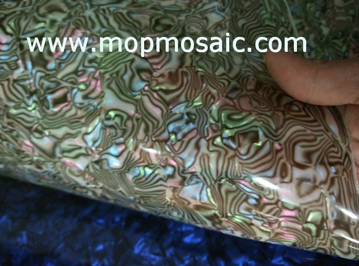 fake blue new zealand abalone shell laminate