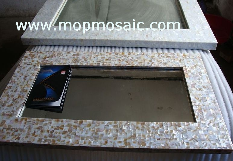 Mother of pearl tiles(dapple color)