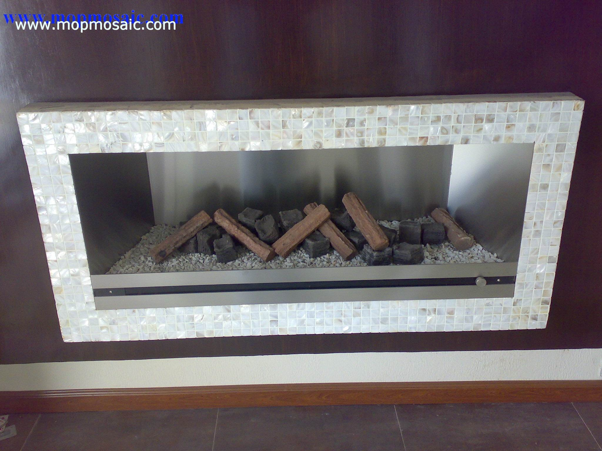 Shell Fireplace decorative  board